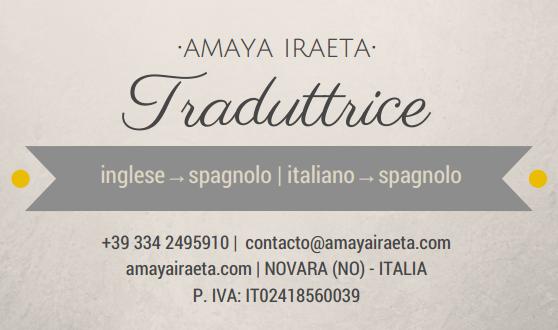 Traduttrice-italiano-spagnolo